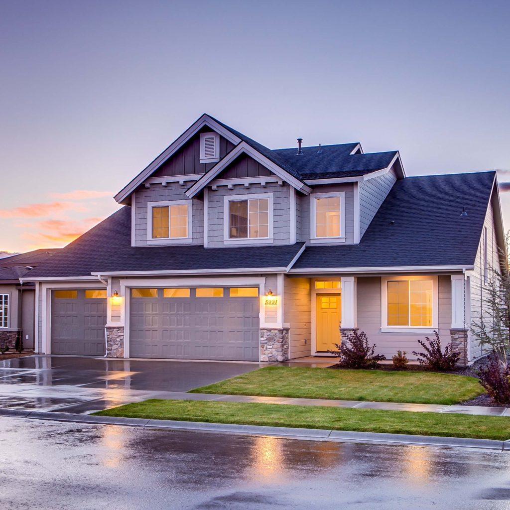 House Siding - Beautiful home with hardie board siding